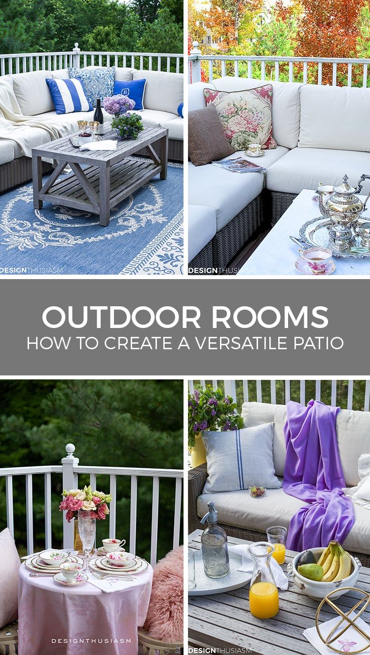 outdoor rooms patio decor