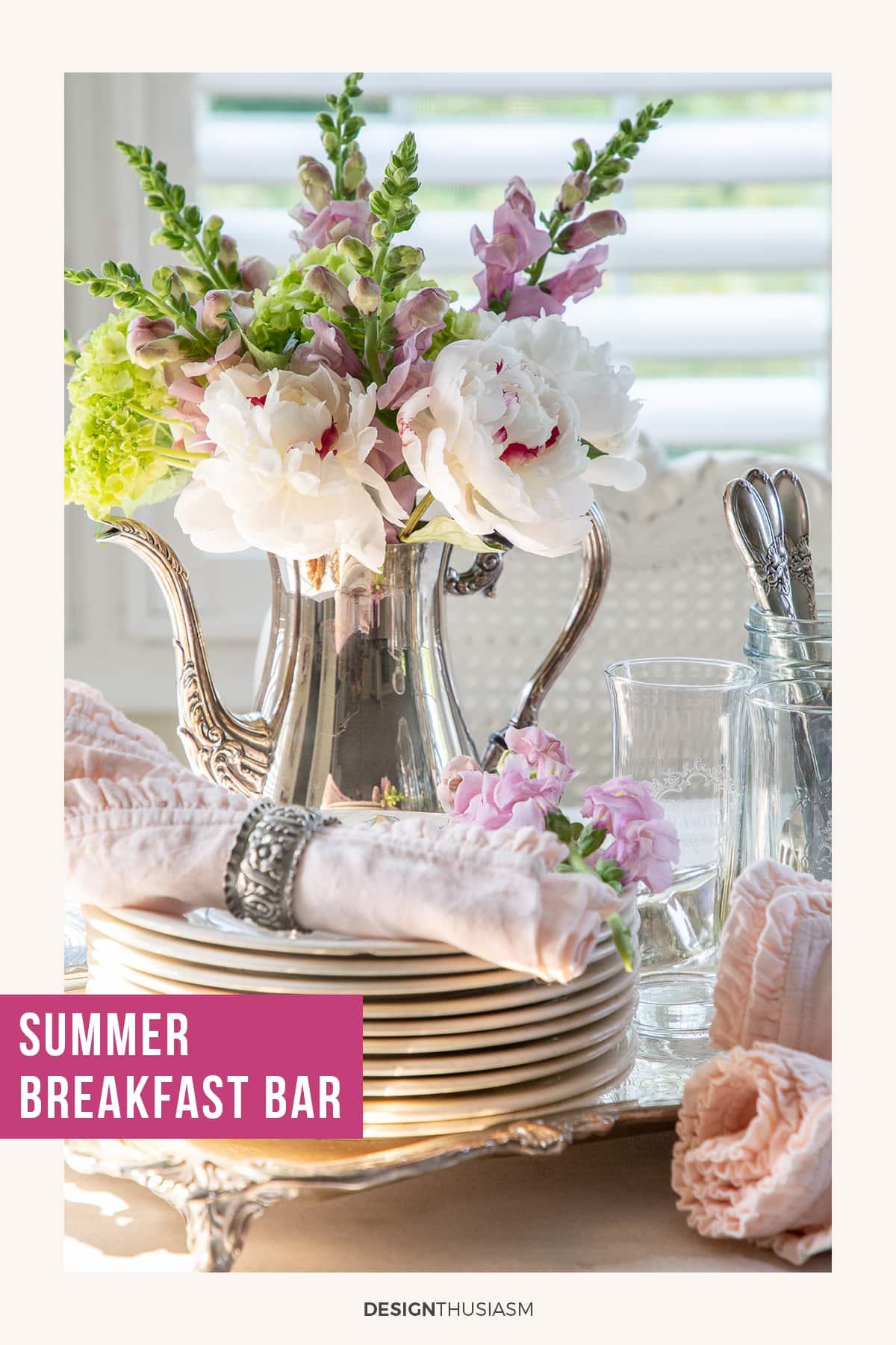Summer Breakfast Bar