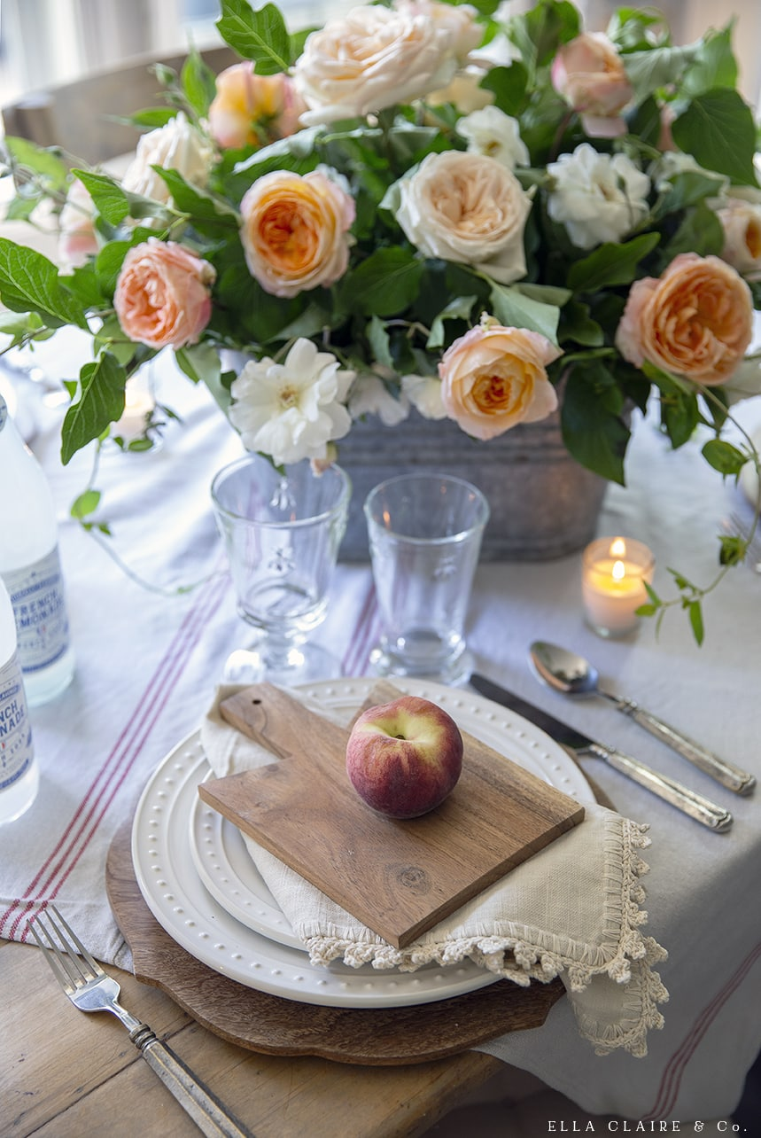 Ella Claire Peach Harvest Table