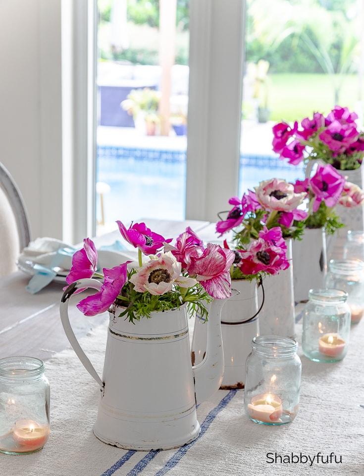 French country summer table setting shabbyfufu