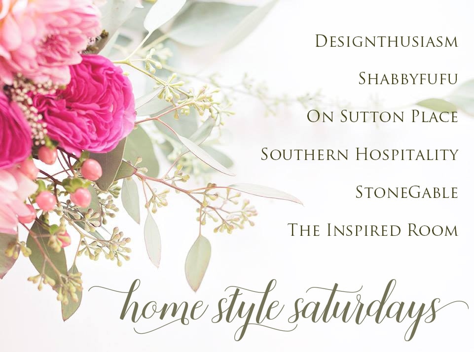 Spring Tidying and Home Style Saturdays