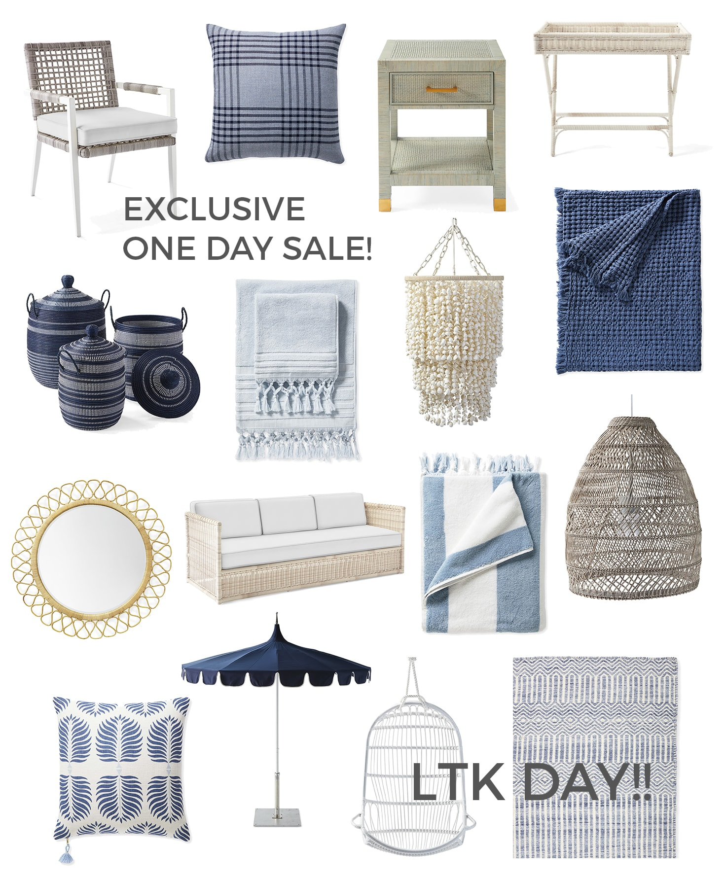 Product collage for LTK Day