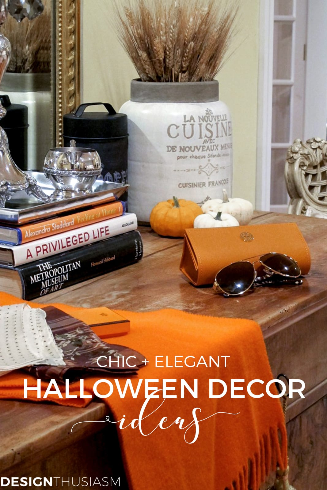 Halloween home decor for the living room