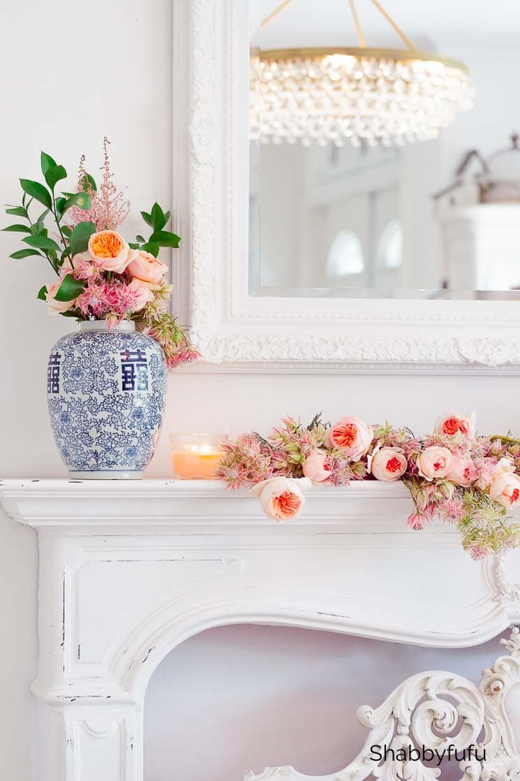 20 minute decorating with flowers shabbyfufu