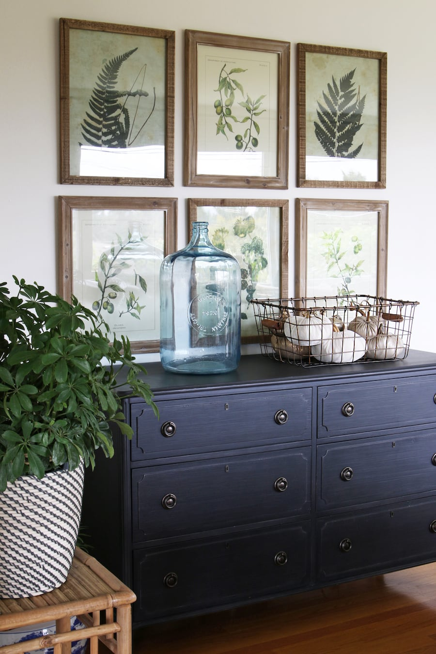 Art sources for beautiful botanicals the inspired room - fall house tour