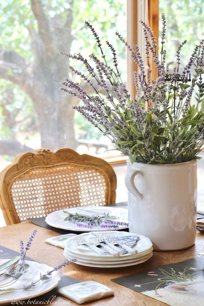 Botanic Bleu blog