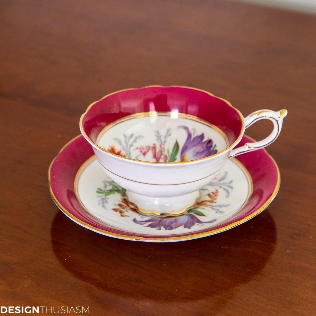 Teacup giveaway