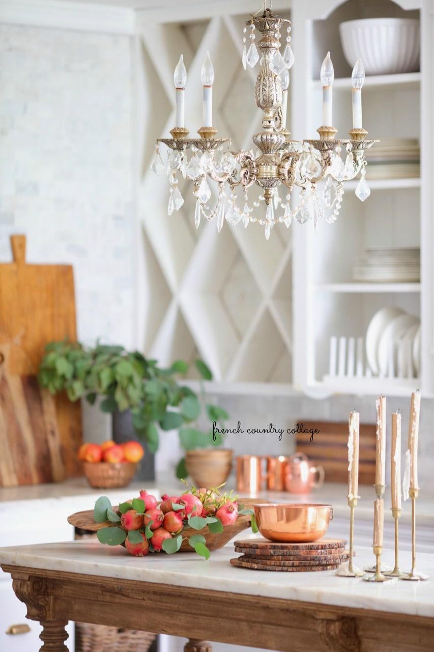 autumn in the kitchen