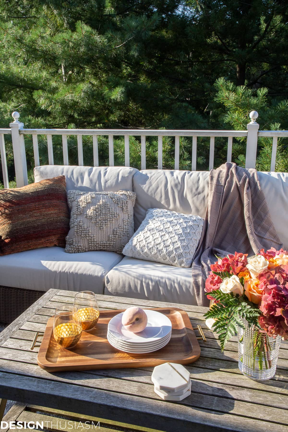 Fall Decorating Ideas For Outside How To Transition Your Patio
