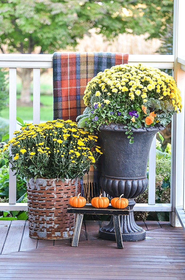 Fall Decorating for Small Outdoor Spaces StoneGable