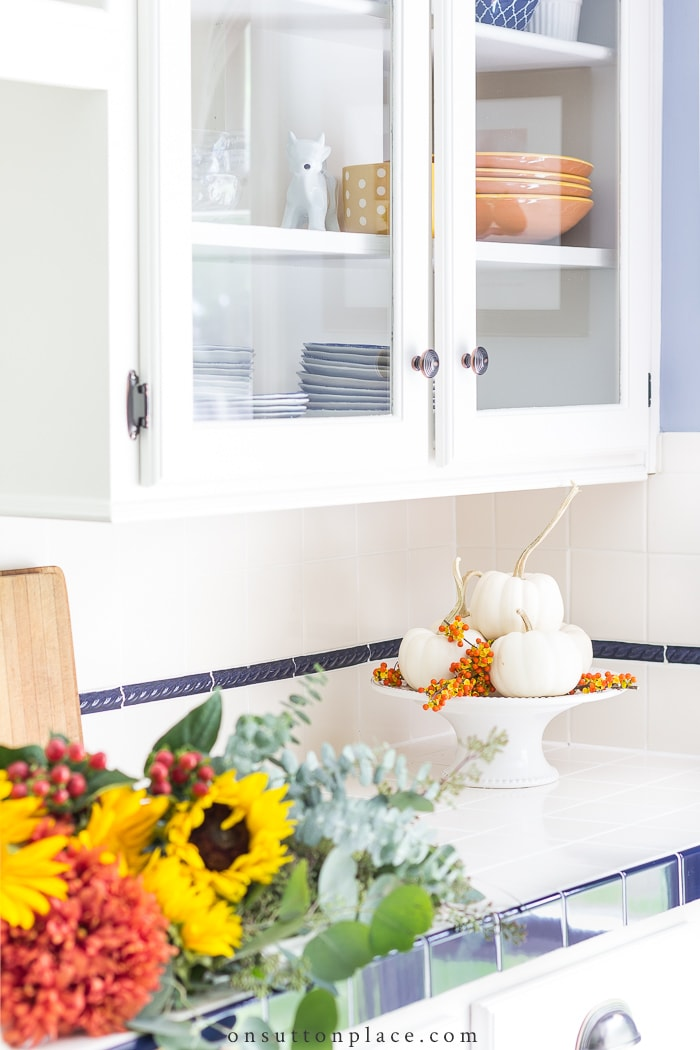 Fall Kitchen Decorating Ideas from On Sutton Place