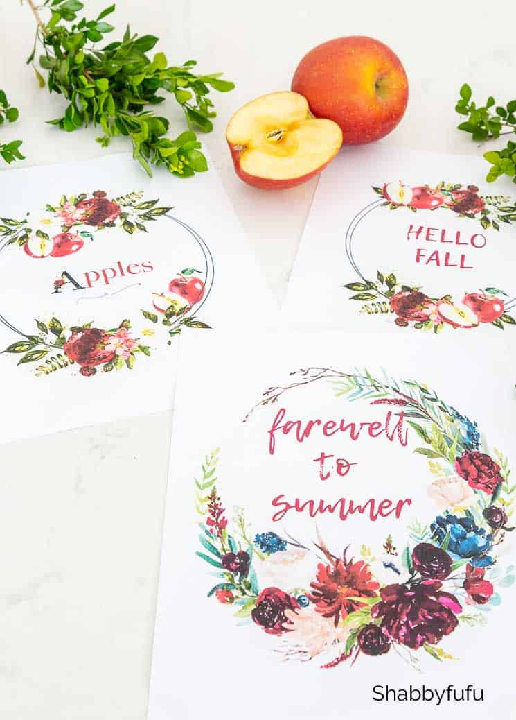 fall printable watercolor wreaths shabbyfufu