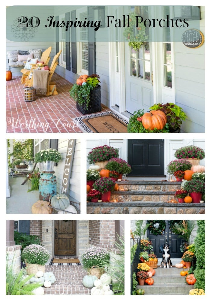 20 fall porches