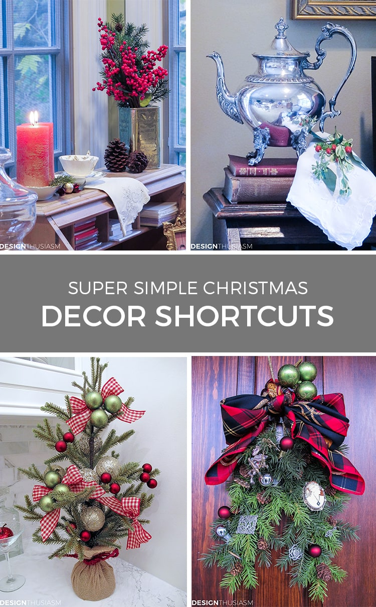 Christmas decoration ideas simple Christmas decor