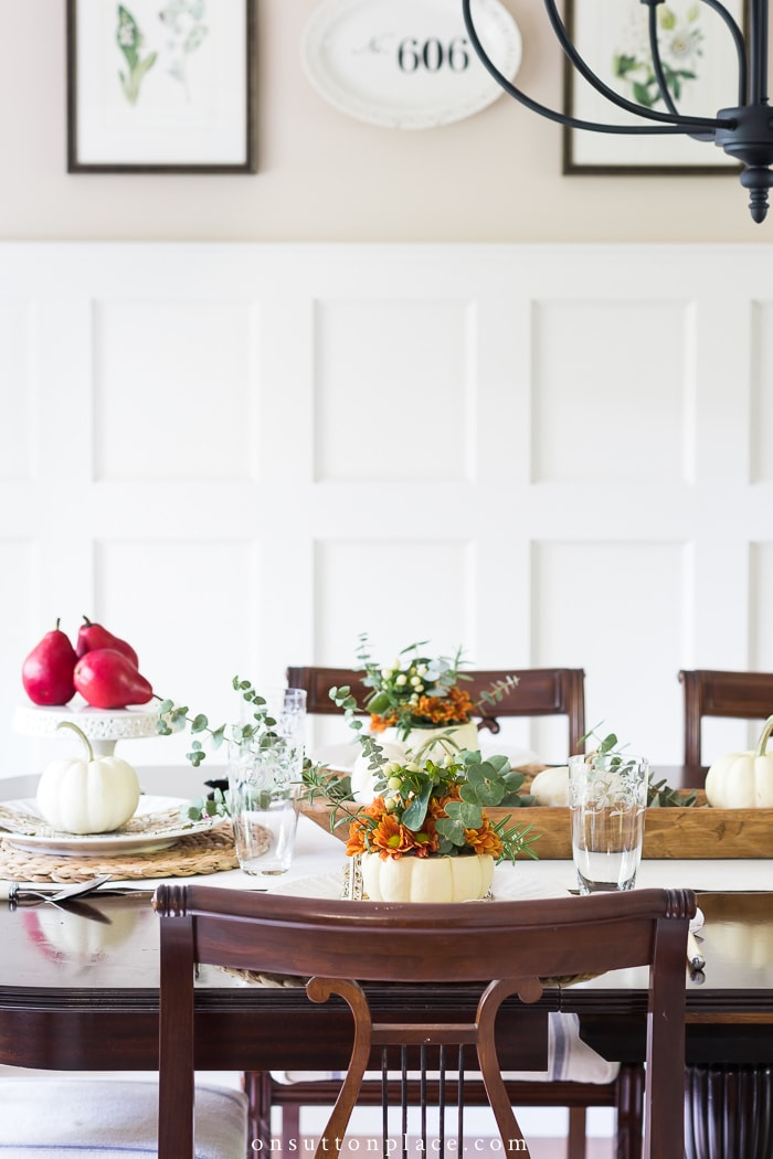 A Thanksgiving Table You Can Be Proud Of from On Sutton Place