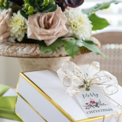 Holiday DIY: Christmas Gift Tag Printables – Set of Six