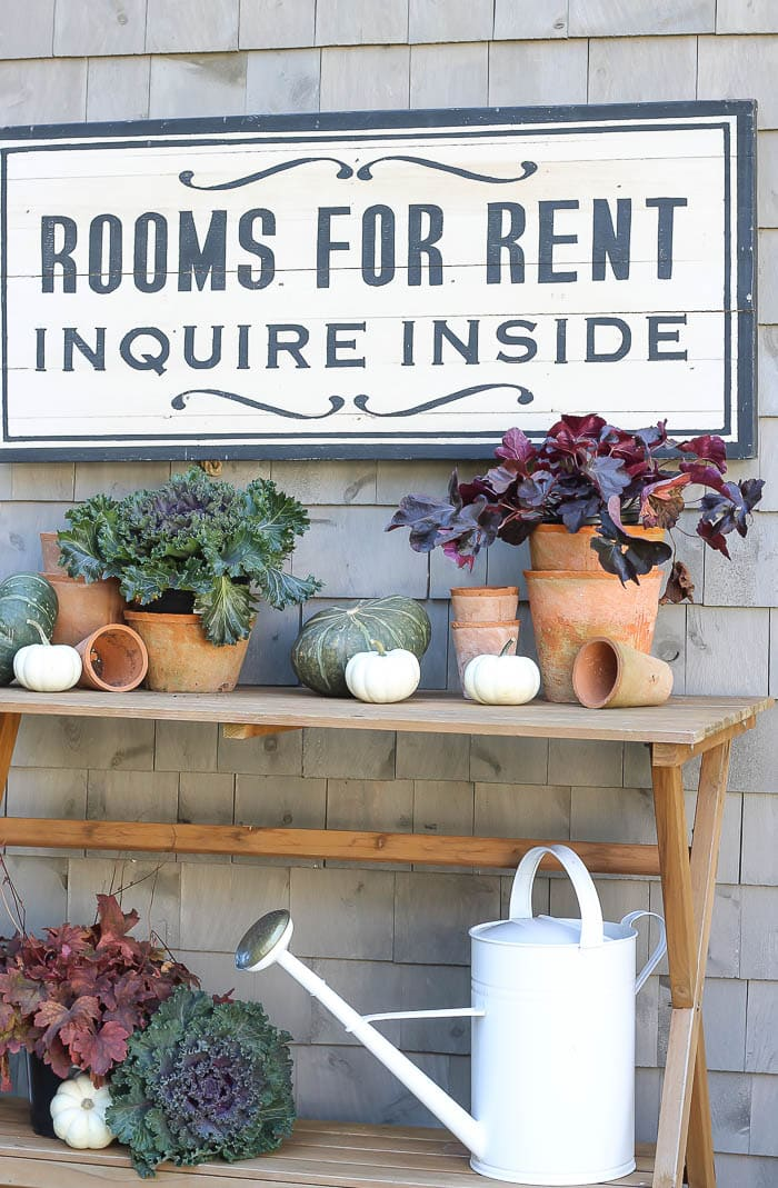 Fall Patio | Rooms For Rent