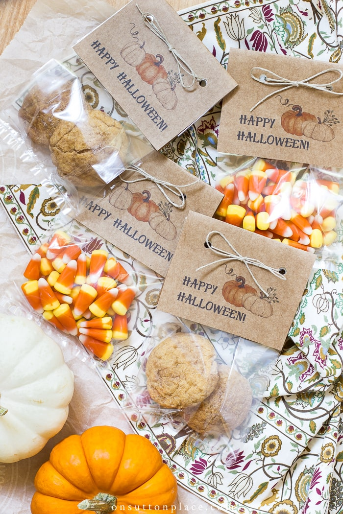 Happy Halloween Treat Bags from On Sutton Place