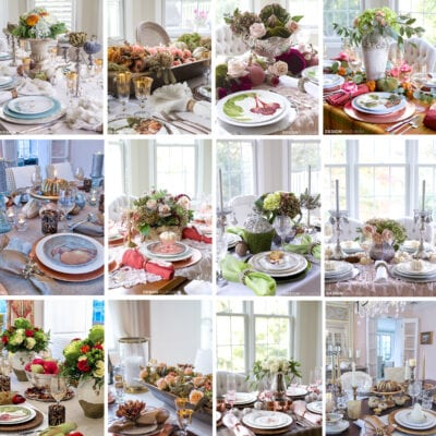 Thanksgiving Table Decor: My Top 12 Thanksgiving Table Setting Ideas