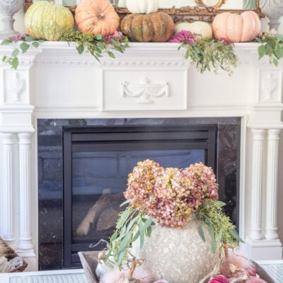 Fall Living Room Decor: Decorating with Pumpkins
