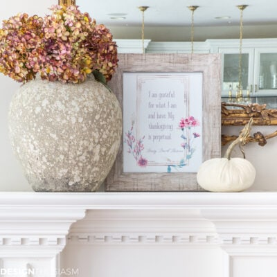 Thanksgiving Printables: 3 Free Printable Wall Art Styles