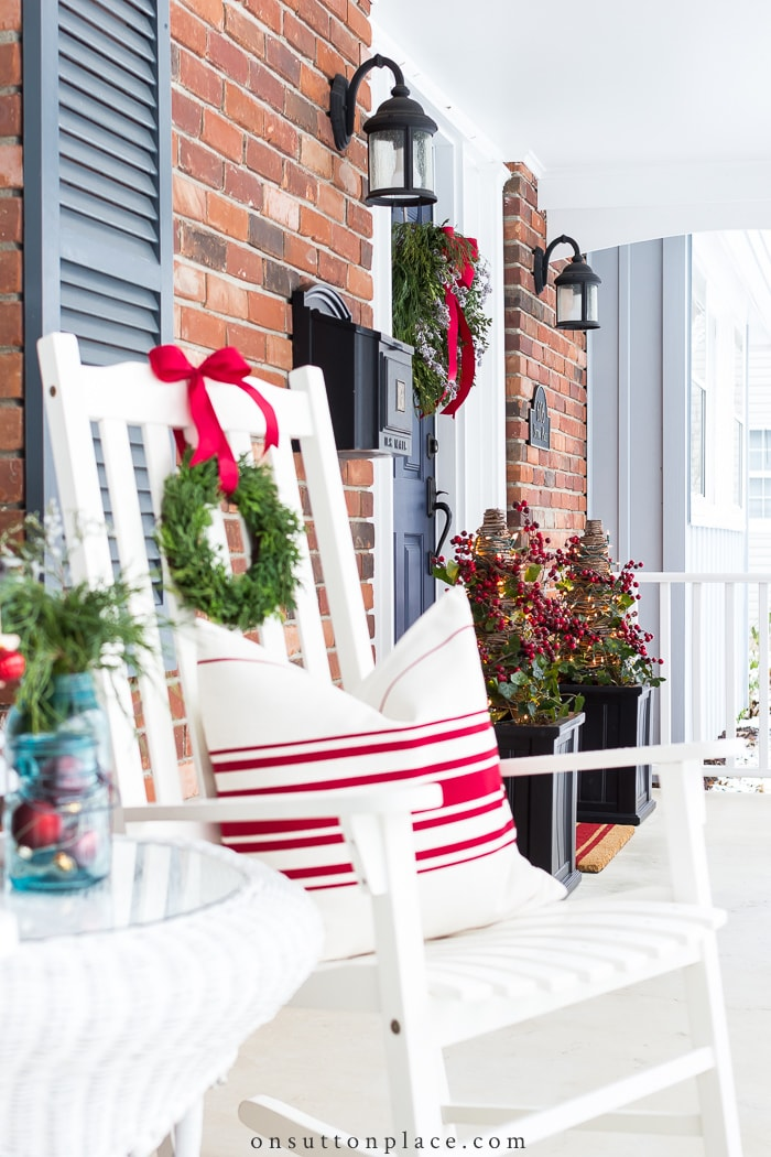 5 Steps to a Fabulous Christmas Porch from On Sutton Place