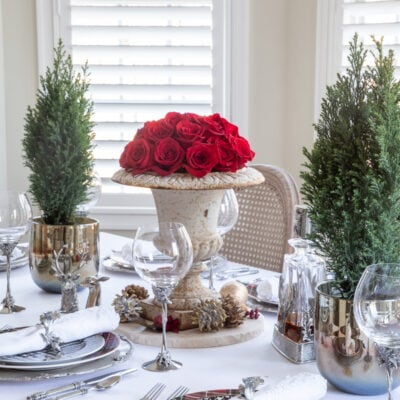 Christmas Table Setting: Classic and Elegant Christmas Table Decorations