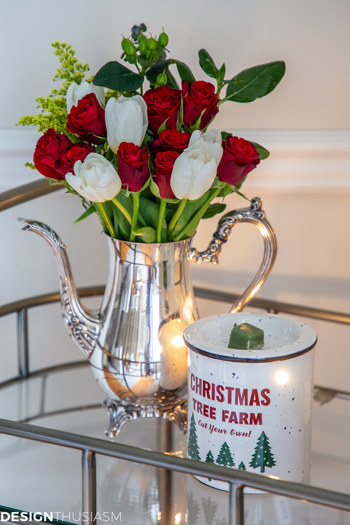 Christmas scents in the dining room