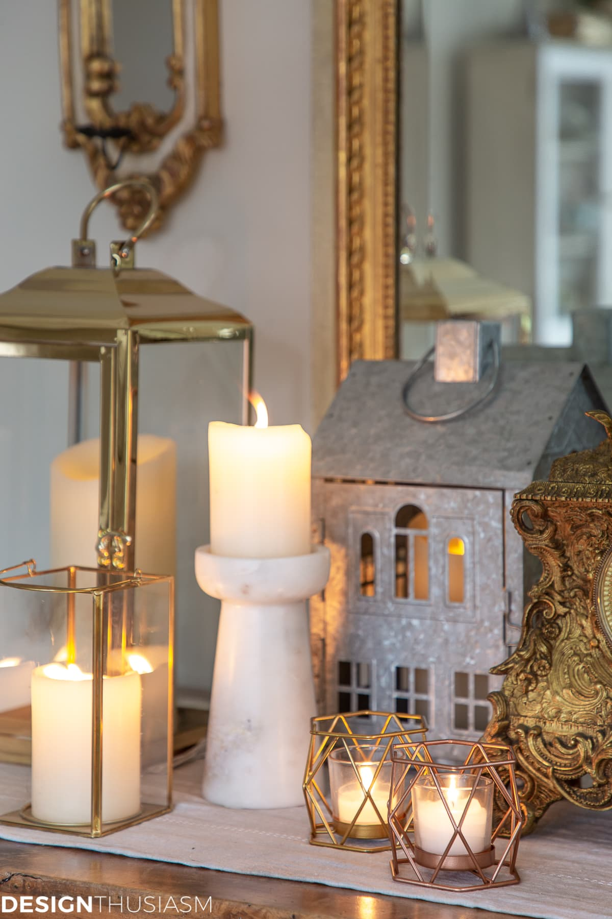 candles and candle holder Christmas gifts