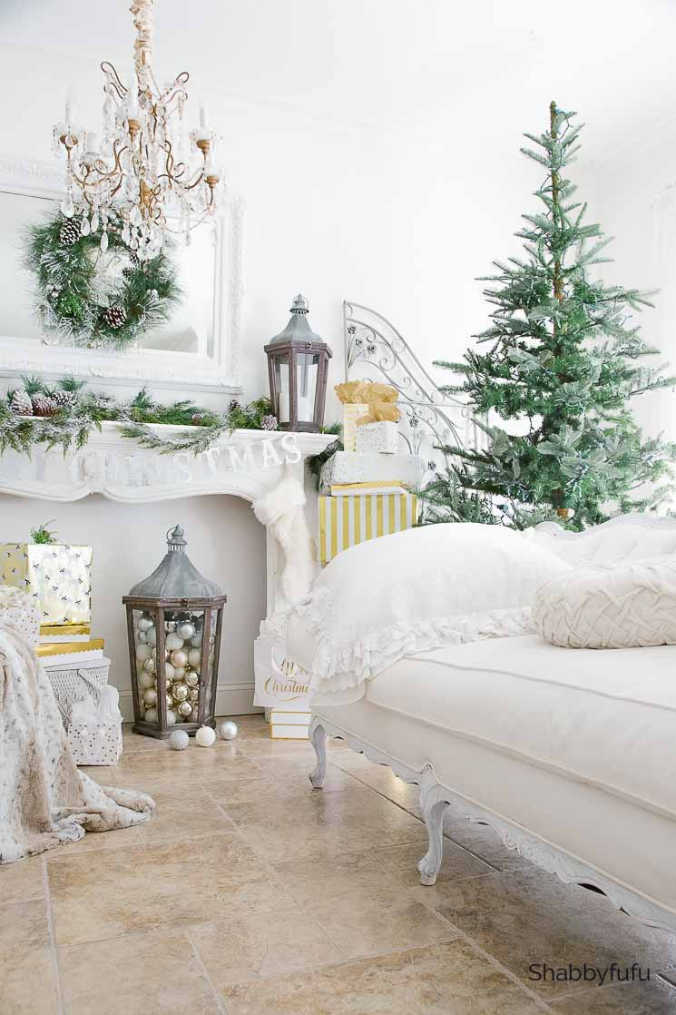 ways to decorate with Christmas balls besides a tree