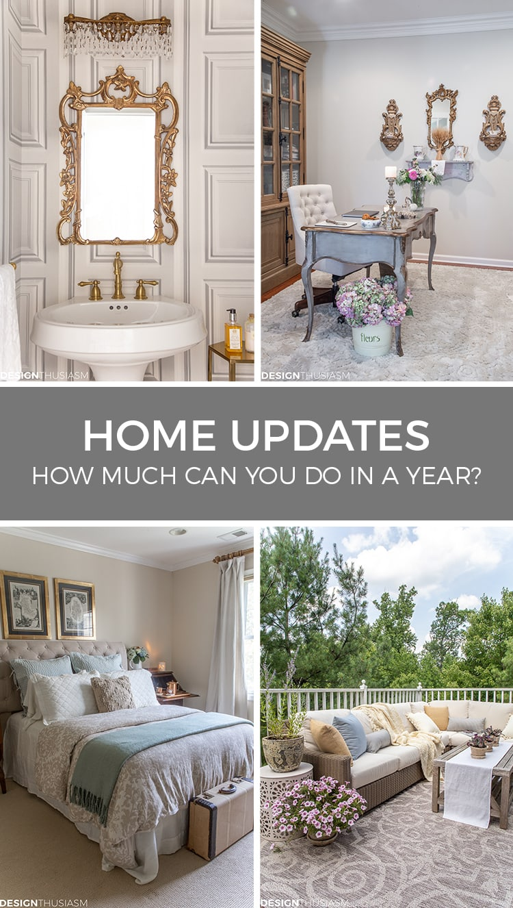home improvement updates and decorating