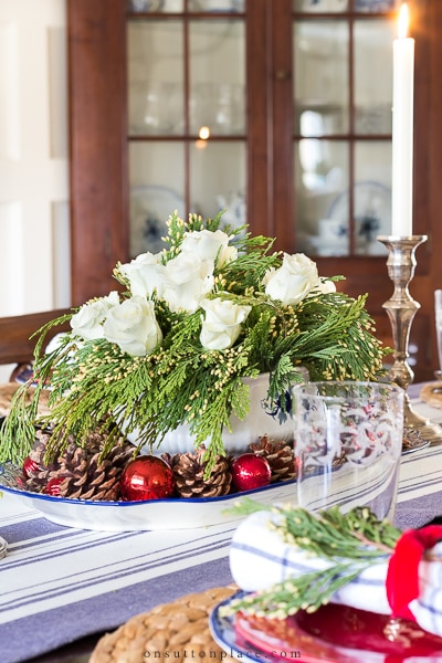 Christmas Tablescape from On Sutton Place