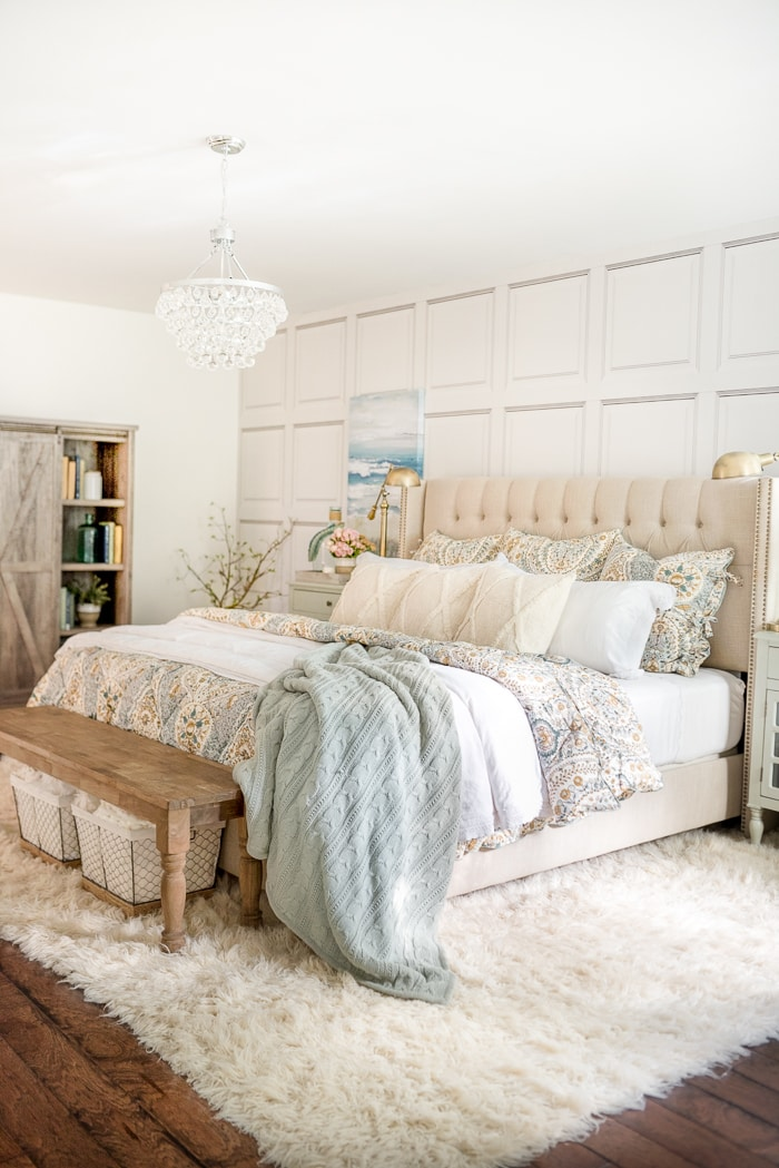 Cozy Coastal Farmhouse Bedroom Home Stories-1