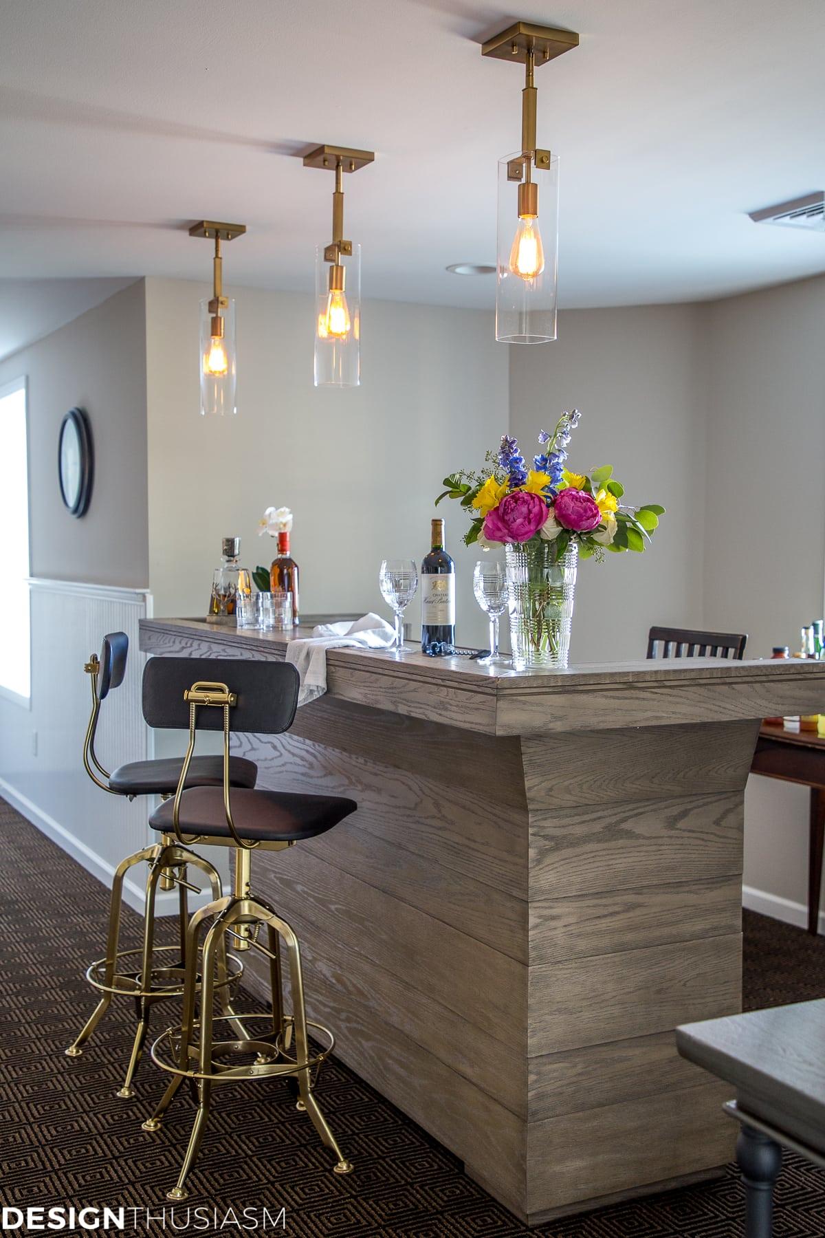 home improvement basement bar