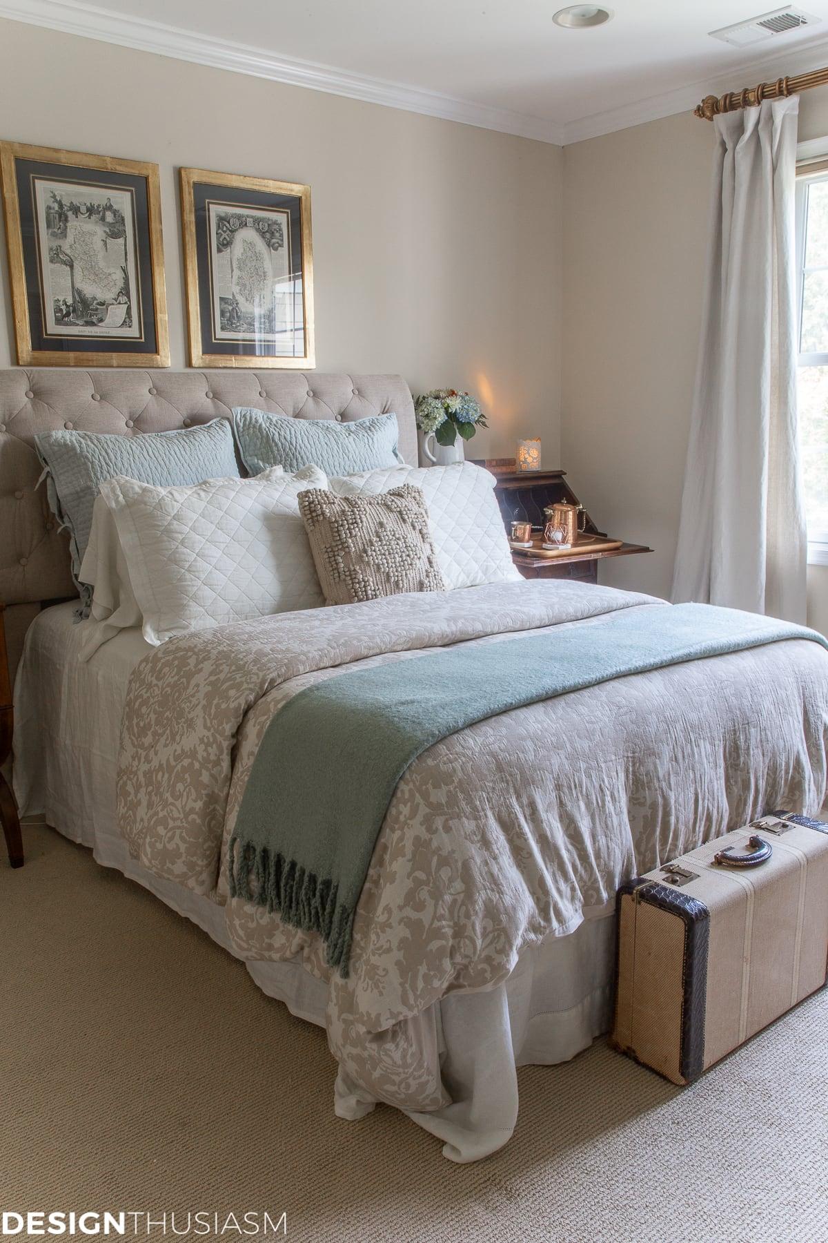guest bedroom refresh home improvement