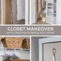 dish closet makeover