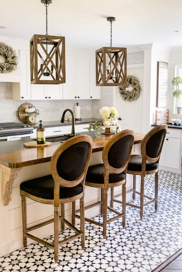 Cement Tile Look for Less Home Stories
