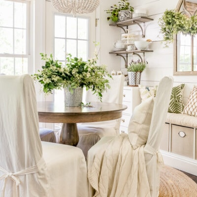 Decorating with Greenery Home Stories