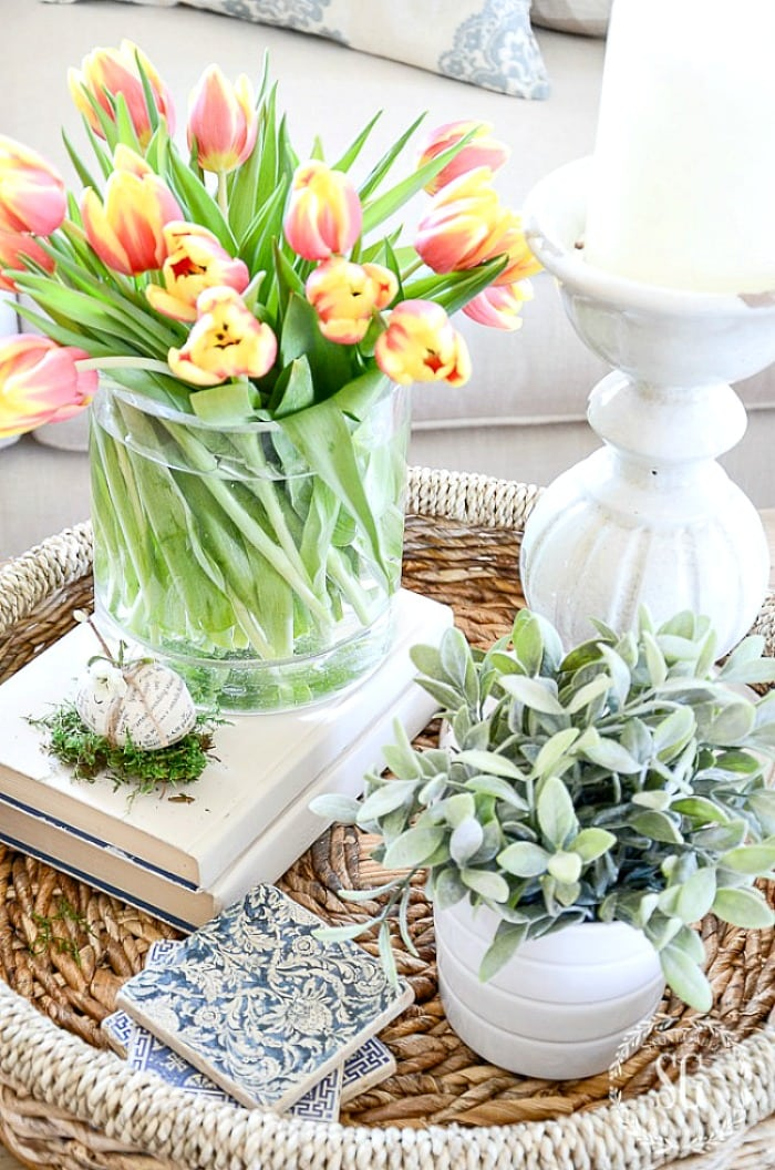 HOW TO CREATE AN EARLY SPRING VIGNETTE StoneGable