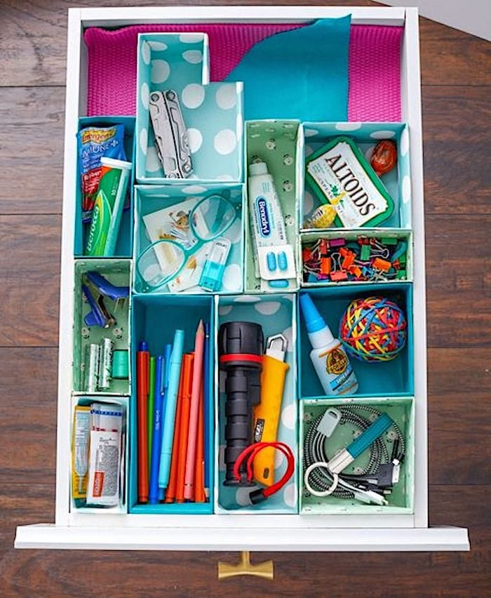 Shabbyfufu - Junk Drawer Organization For Good