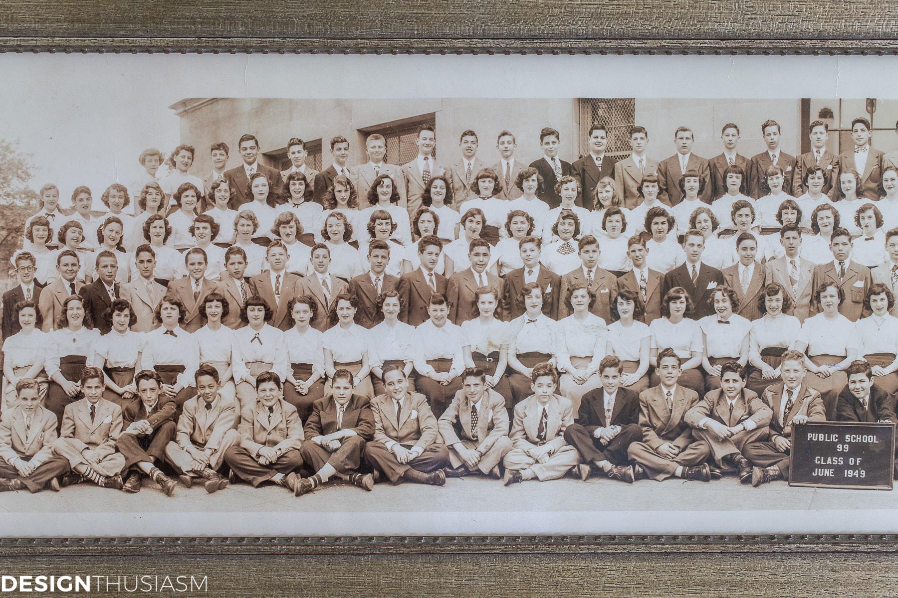 vintage school class photo