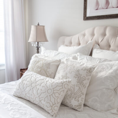 White Bedding: Refresh Your Home for Winter with Luxury Bed Linen Ideas