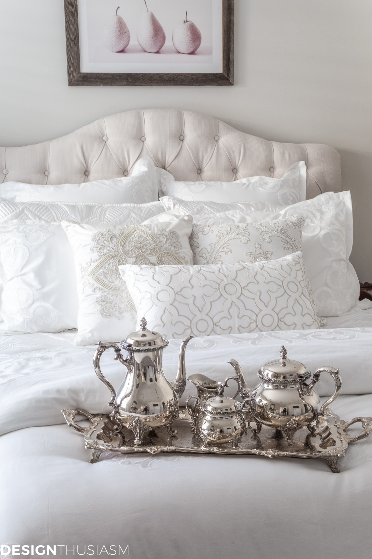 luxury white bedding