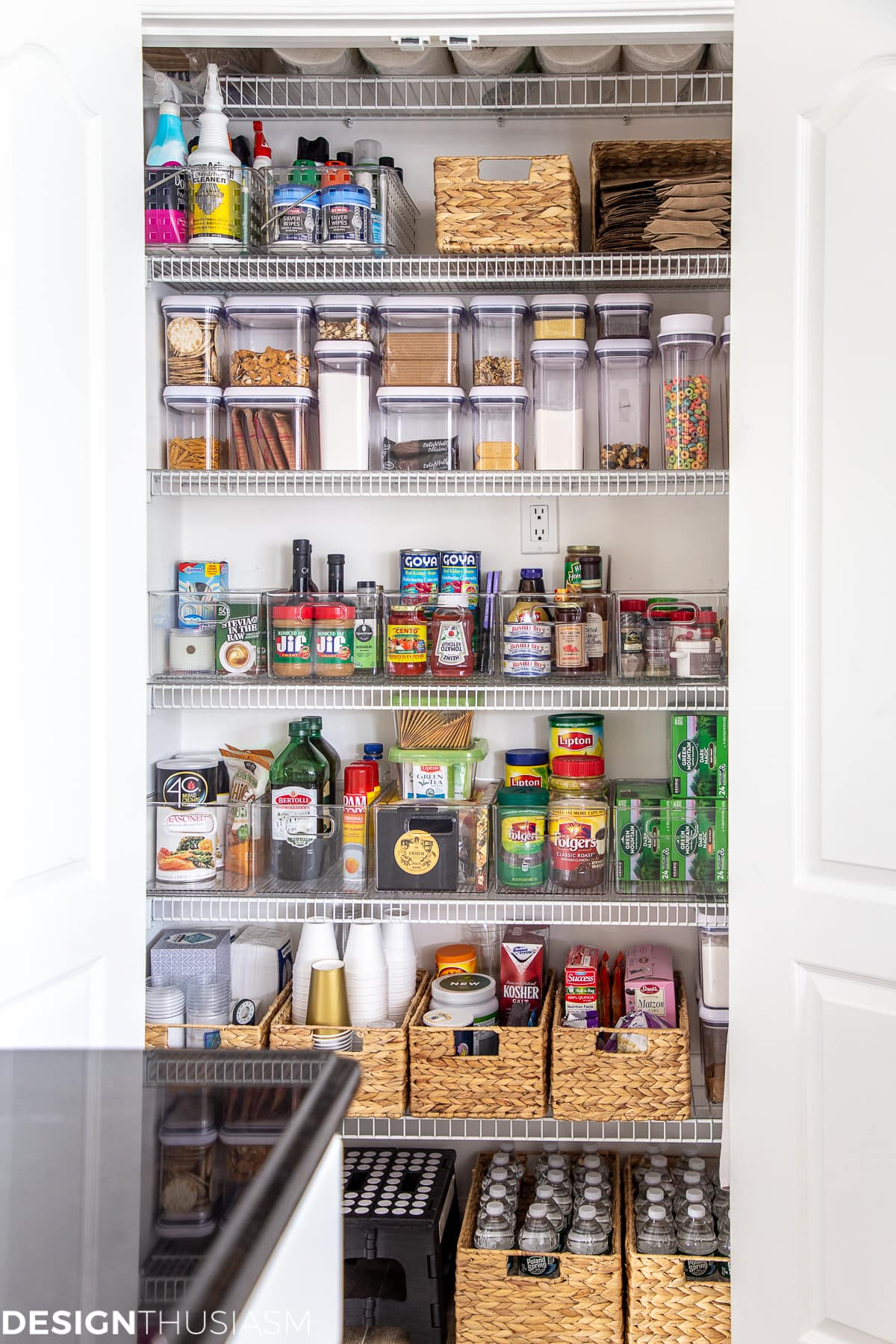 kitchen pantry organization system