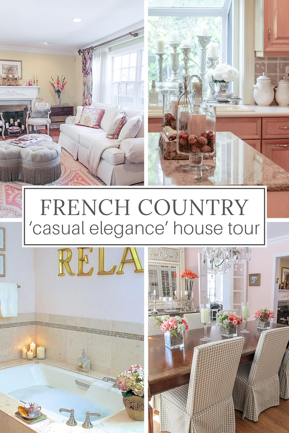 French Country house tour