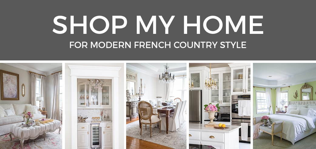 Designthusiasm Shop - Modern French Country - Home Decor - Shop My Home