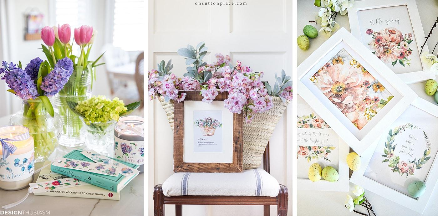 Spring series printables