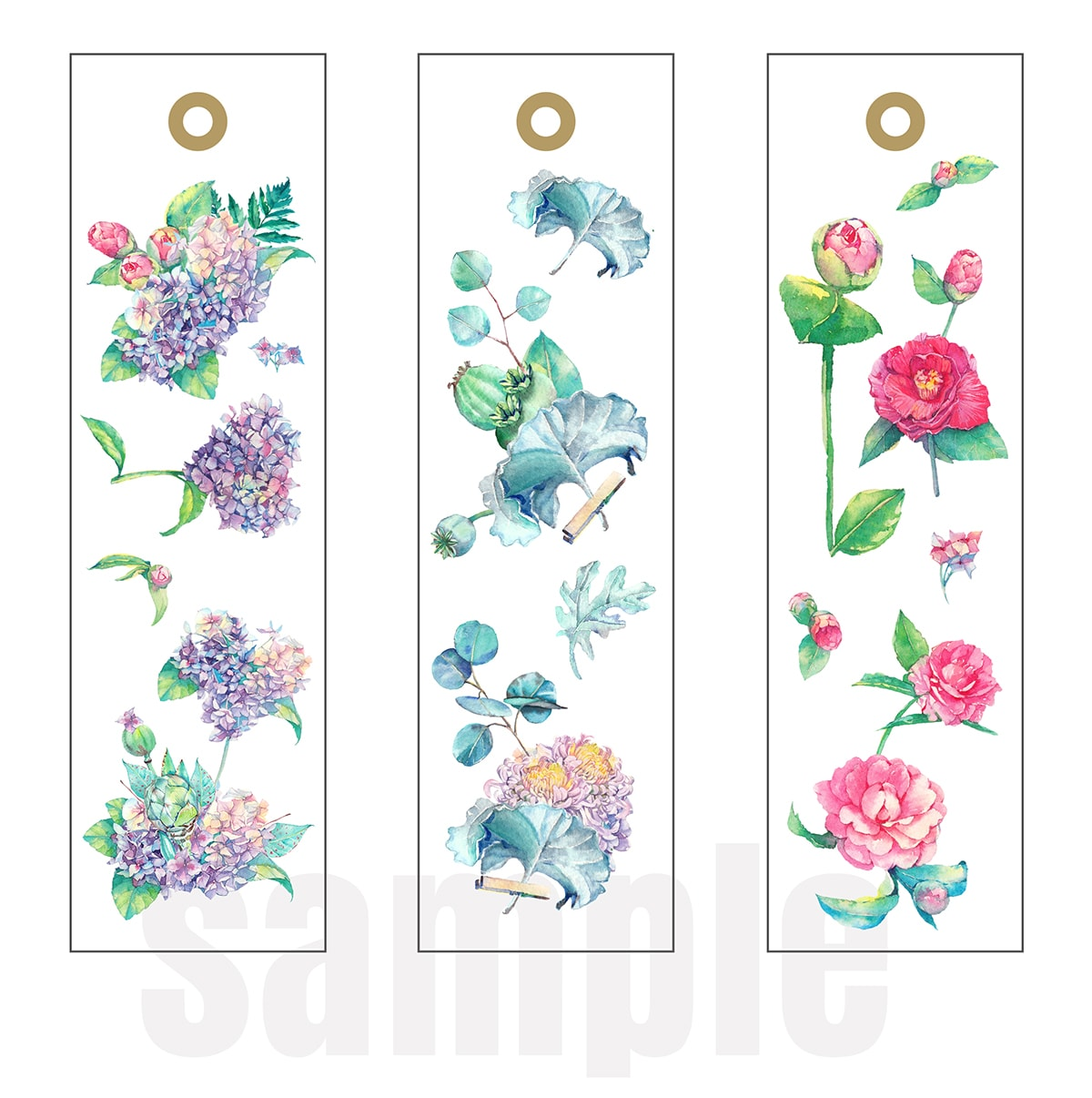 spring bookmark printables
