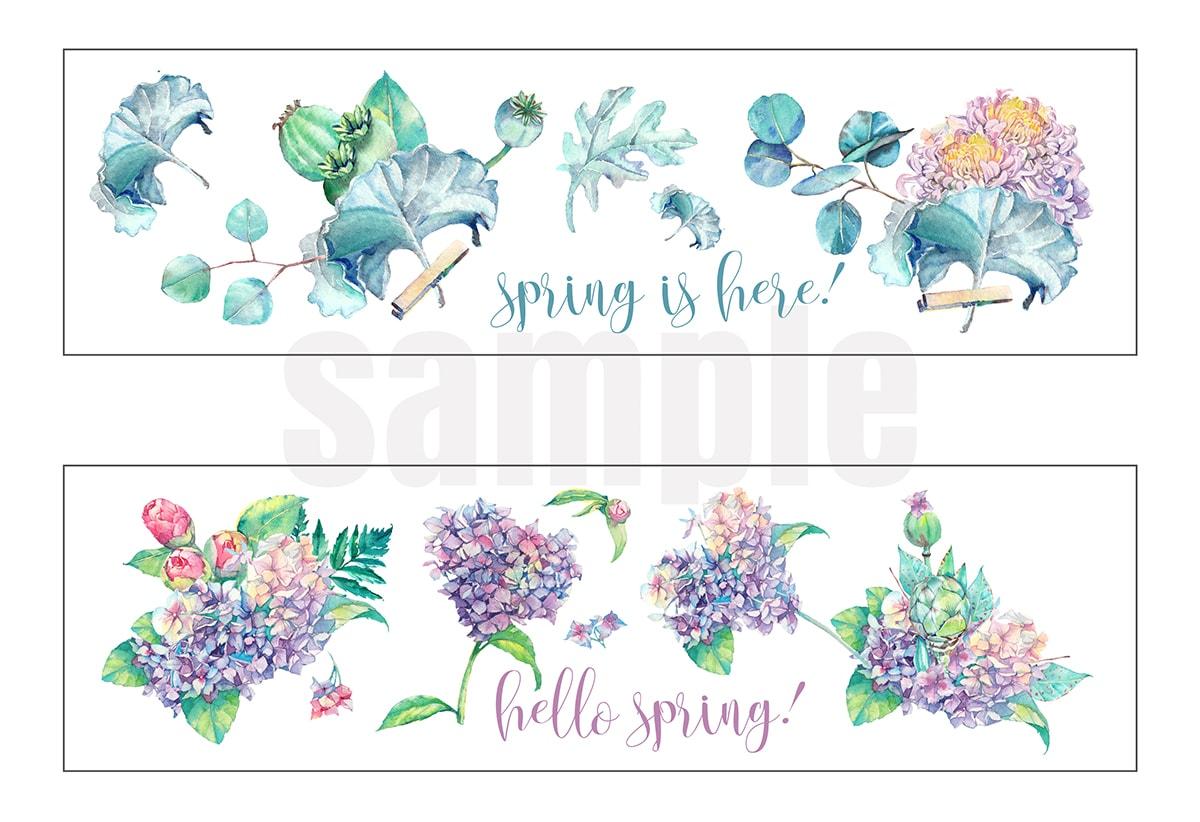spring printable labels