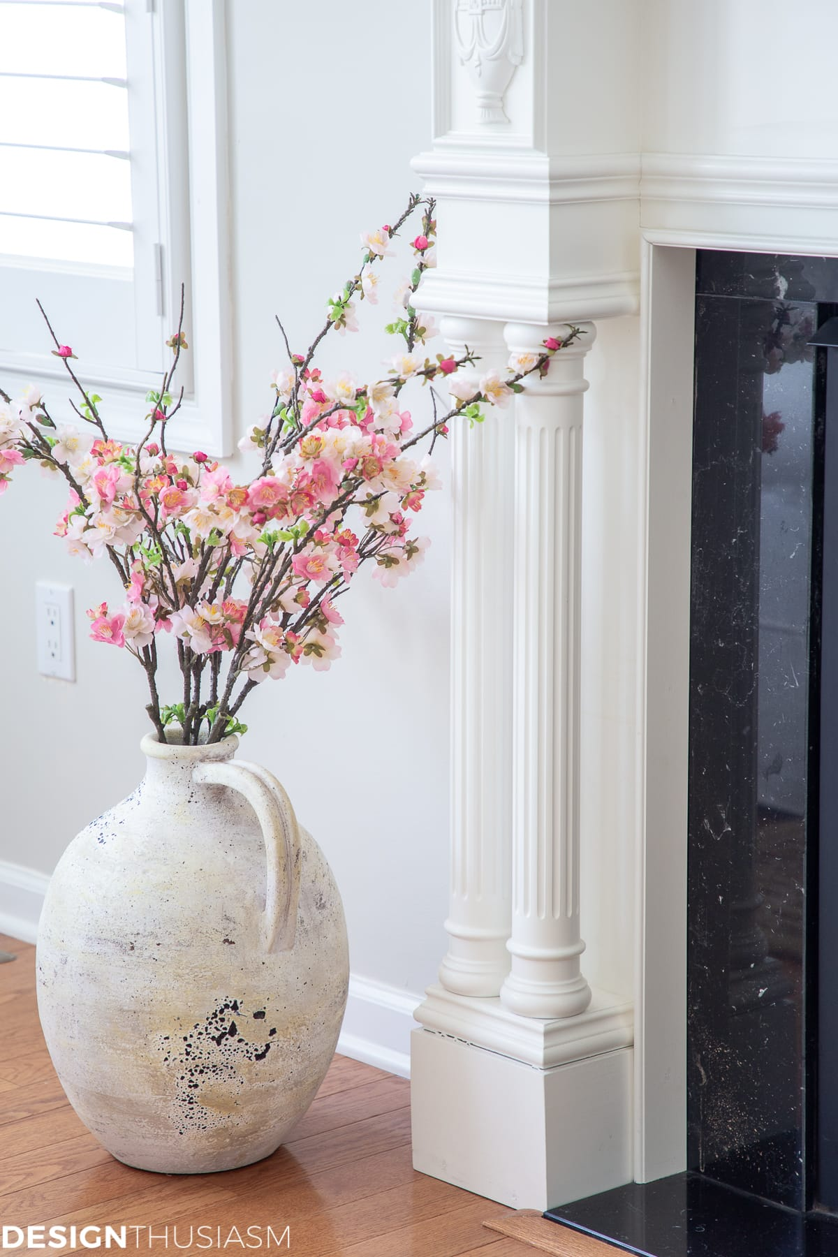 spring decor cherry blossoms